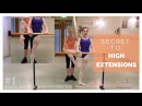 The Secret to HIGHER EXTENSIONS  PT 1