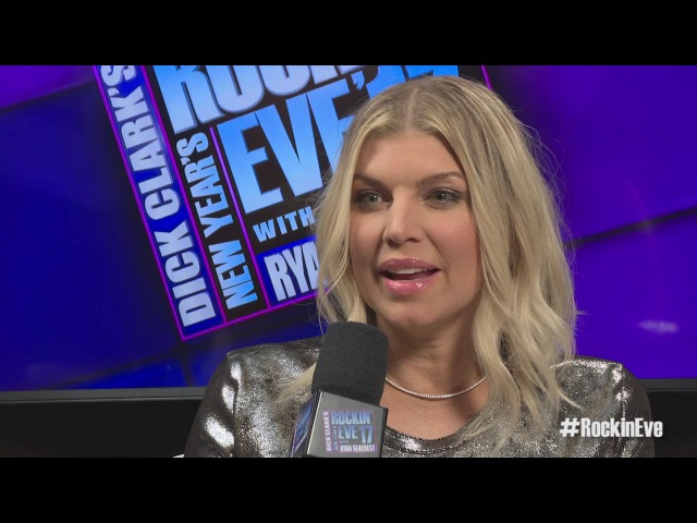 Fergie on Her Favorite 2016 Moment - NYRE 2017