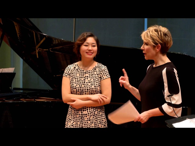 """Joyce DiDonato Master Class 2015 Rossini's """"Bel raggio lusinghier"""" from Semiramide"""