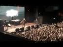 Фанат зажёг фаер на концерте PHARAOH'A - Cold Siemens (Москва 30.11.2016)