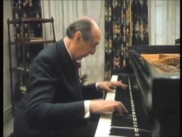 Horowitz plays SCHUBERT Impromptu In A flat Opus 90 No 4