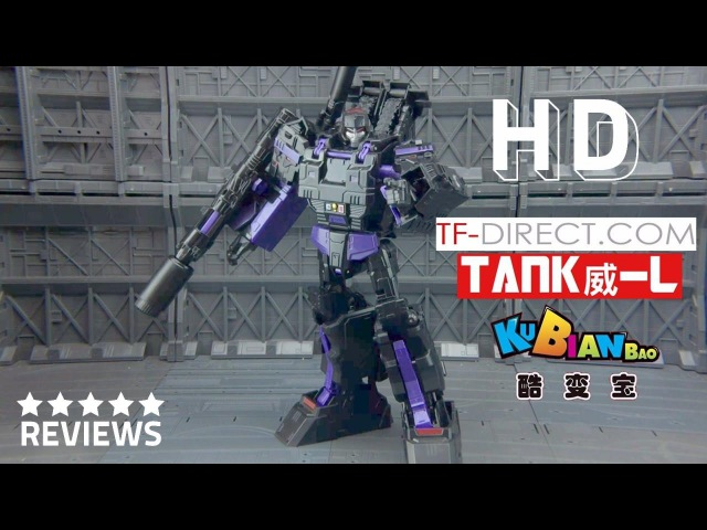 Kubianbao KBB Black TANK MEGATON Obsidian version Combiner Wars Leader