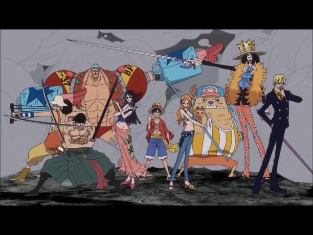 Ван Пис Прикол Отряд Самоубийц трейлер One Piece