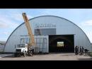 Строительство бескаркасных ангаров в Омске