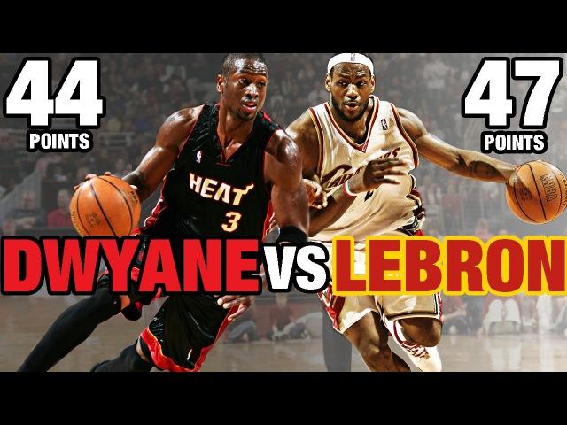 LeBron James vs Dwyane Wade | Historic Duels | Full Highlights | 04.01.2006 NBANews NBA