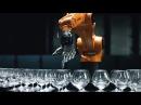 Музыкальный Поединок Робота и Теннисиста Robot Vs Human in Musical Battle