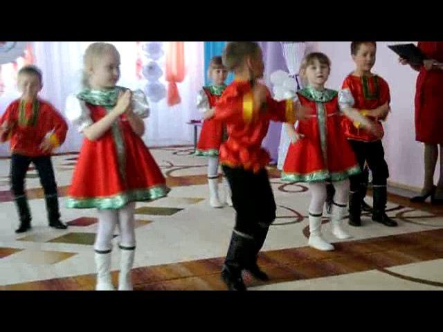 танец Хороши весной в саду цветочки детский сад Березка с. Зилаир