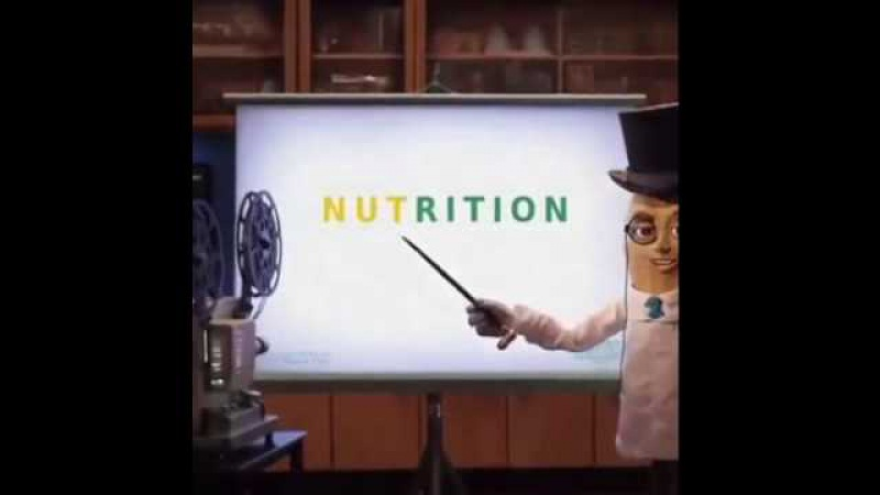 You Can't Spell Nutrition WIthout Nut