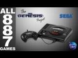 SEGA Genesis⁄Mega Drive - All 887 Games - Every US⁄EU⁄JP Game