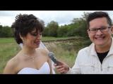 Наш Специальный Репортаж-поздравление на свадьбу Ивана и Лены от 9 сентября 2016 года.