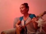 Казахская песня на домбре Көздеріңе ғашықпын коздерине гашыкпын