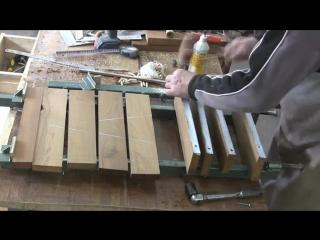 Как изготовить столешницу из дерева. How to make a tabletop