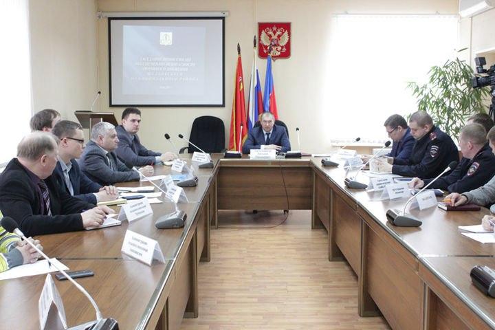 Заседание комиссии по обеспечению безопасности во время ДТПсостоялось в рай ...