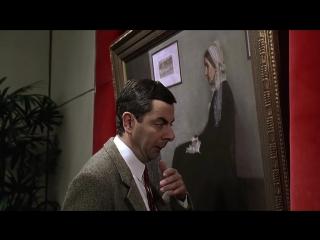 Mr. Bean оч умелый реставратор