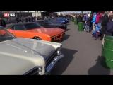 На Пушкинской набережной в парке Горького открылась автомобильная выставка