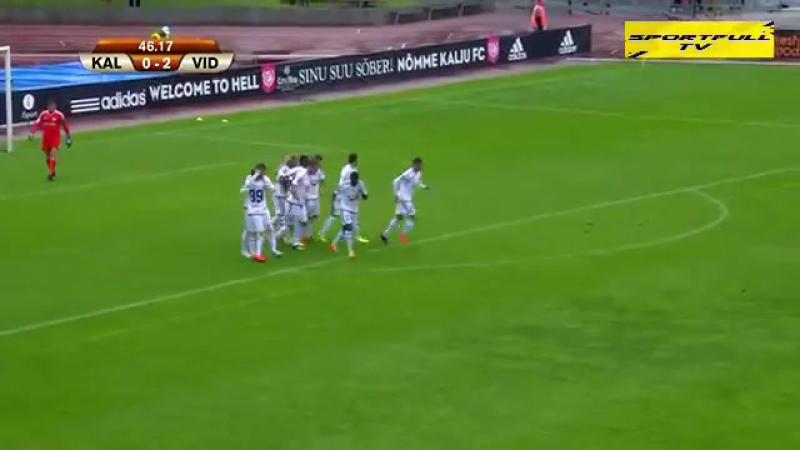 108 EL-2017/2018 JK Nõmme Kalju - Videoton FC 0:3 (13.07.2017) FULL