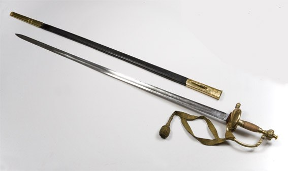 Первые шпаги ставили на вооружение стрельцам,