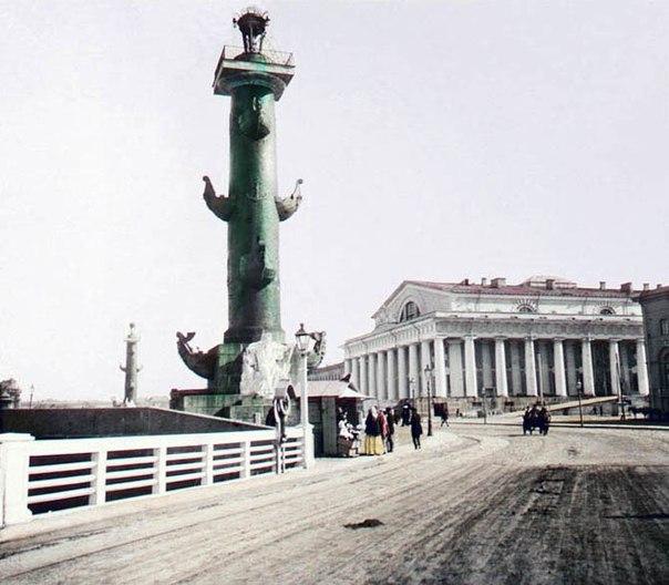 Дореволюционный Петербург в цвете конец 19 века.