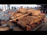 Cо дна Баренцева моря подняли танки США времён Второй мировой