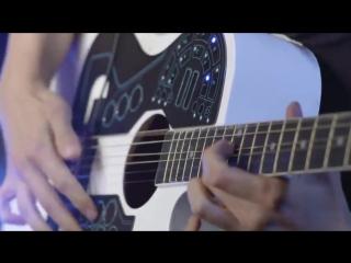 Шикарная наклейка на гитару