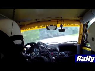 Моменты из кабины пилота rally