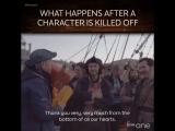 Проводы Джона Холлинворта в его последний съемочный день от BBC One