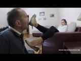 Foot fetish slave licking shoe feet #femdom #mistress #bdsm #fetish #фемдом #госпожа #раб