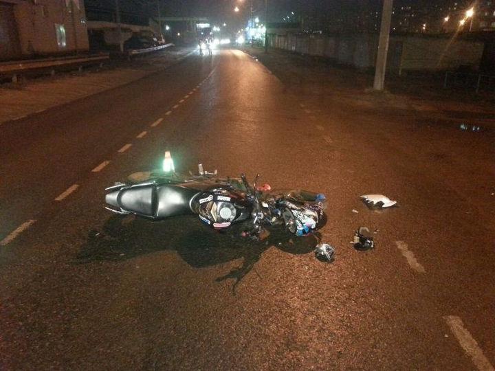 Две аварии с участием мотоциклистов произошло в Симферополе с начала апреля