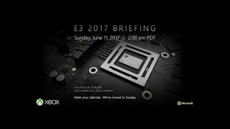 BE3 | Bethesda Press Conference E3 2017 - NEW XBOX ONE X: 4K Gaming Console