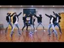170327 Monsta X 'Beautiful' mirrored Dance Practice