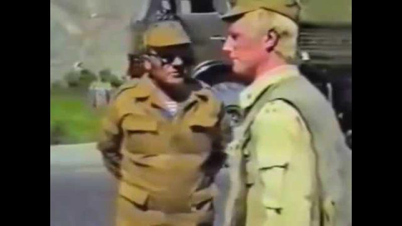 Начальник тыла армии увидел как дембеля бьют духа. Афганистан