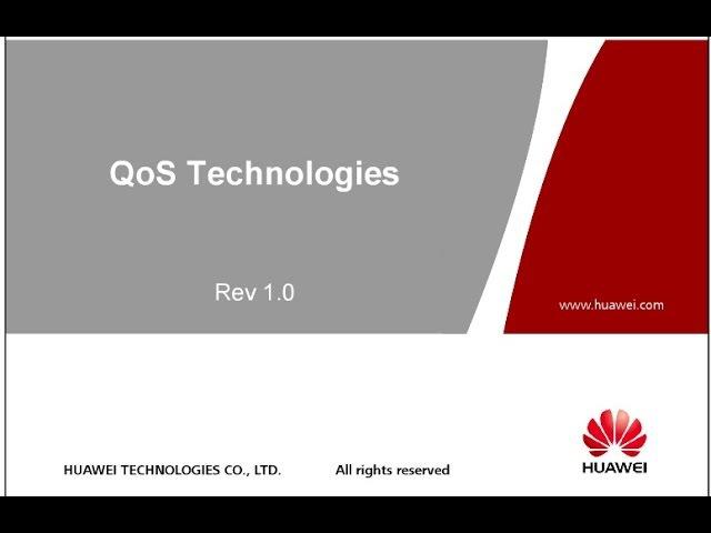 Вебинар vIP №9: Принципы и механизмы обеспечения качества сервисов (QoS) в пакетных сетях