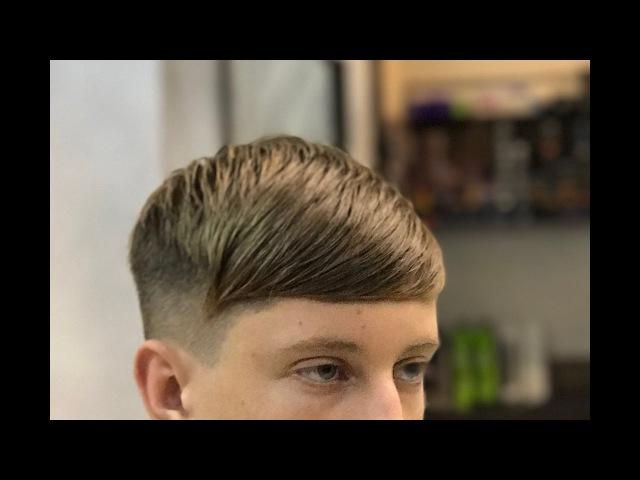 Step by step mens haircut