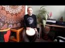 Уроки игры на джембе Урок 8 Ритм Ashiko