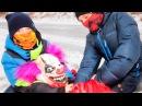 КИЛЛЕР КЛОУН ПОЙМАН. ЧТО С НИМ ДЕЛАТЬ Scary Killer Clown СТРАШНЫЙ КЛОУН ПРЕСЛЕДУЕТ!!