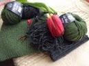 Вязунчики и покупки свитер из Malabrigo шапки из Lana Grossa маркеры от Addi