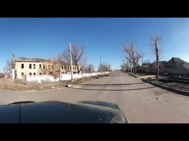 360 градусов тур результата ВСУ обстрела Донецка (Часть 1 - ул стратонавтов)
