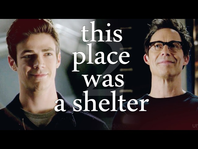 Harrison wells barry allen ▪ this place was a shelter ► the flash
