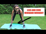 Legs and Core Mini-Band Workout - Warm Up Included!