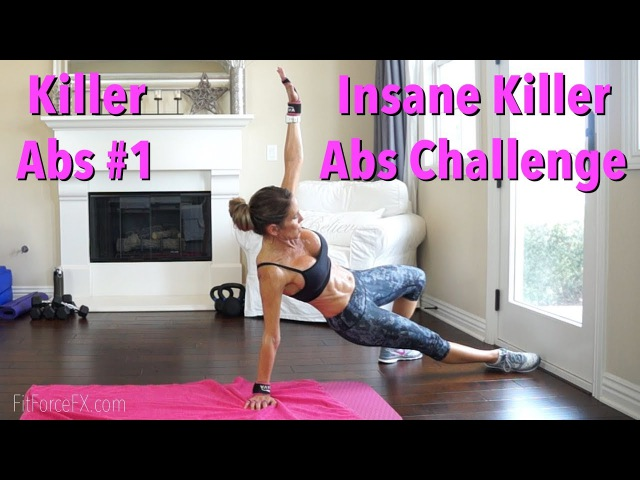 Insane Abs Challenge Killer Abs Series No. 1 absworkout hiit fatburn toneup abs flatstomach