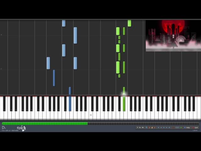Bungou Stray Dogs Ending - Namae wo Yobu yo (Synthesia)