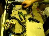 Ремонт стиральной машины Самсунг, Samsung разборка бака замена крестовины