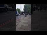 Royal Escort Motorbike Crash London