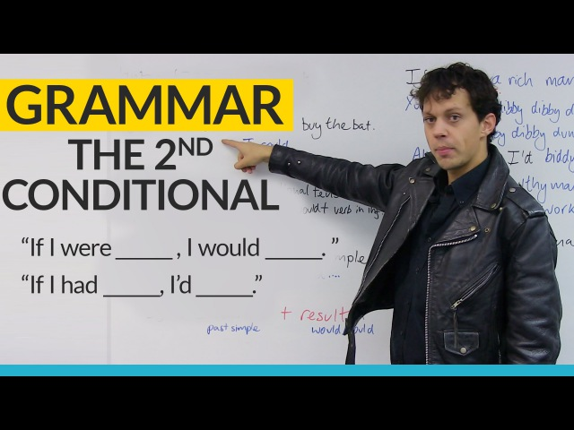 Learn English Grammar: The 2nd Conditional: WOULD COULD