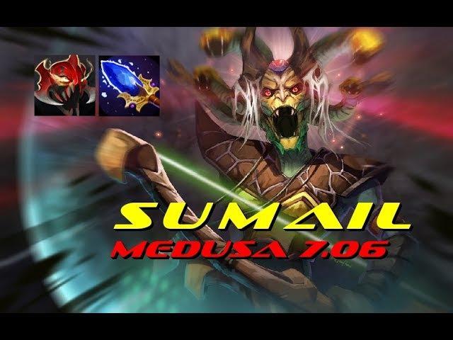 SumaiL Medusa - 7.06 NEW META Aghanim's Scepter MoM