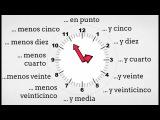 La hora en español - Telling Time in Spanish