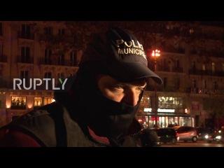 Франция: «Гнев настолько велика, она взрывается» - Полицейские протестуют на пятый день подряд.