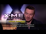 Entrevista Michael Fassbender y James McAvoy - X-Men Días del Futuro Pasado