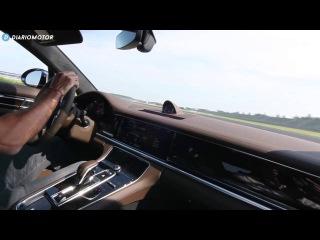 Porsche Panamera - Vuelta rápida