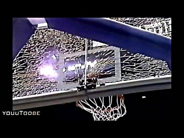 Michael Jordan Dunks on Chris Morris And Then... (Backboard Breaking!)